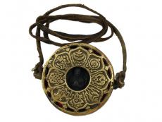 Tibetische Ghau Box Amulett Chenrezig