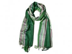 Handgewebtes Nepal Schal grün