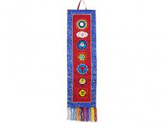 Tibetischer Wandbehang - 7 Chakras