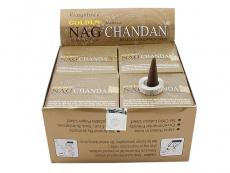 Golden Nag Chandan Räucherkegel