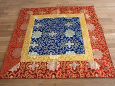 Altardecke Tischdecke aus Brokat mit Lotus Design