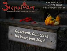 Nepal Art Geschenkgutschein 100 EUR