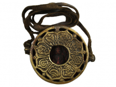 Tibetische Ghau Box Amulett Amitabha Buddha