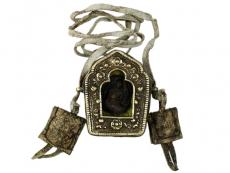 Tibetische Ghau Box Amulett Akshobhya Buddha