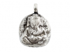 Anhänger Ganesha - 925er Sterling Silber