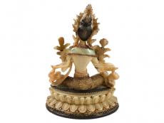 Grüne Tara Statue