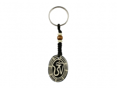 Schlüsselanhänger mit Om Symbol