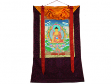 Thangka Rollbild - Shakyamuni Buddha