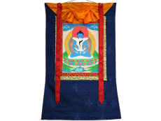 Thangka Rollbild - Samantabhadra