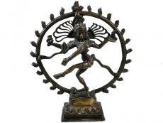 Shiva Nataraja - Messing Statue 29 cm