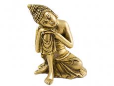 Buddha ruhend - Messing Statue 15 cm