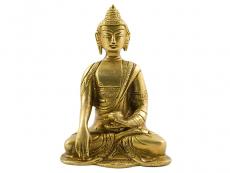 Akshobhya Buddha - Messing Statue 11,5 cm