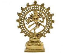 Shiva Nataraja - Messing Statue