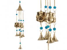 Windspiel - Glockenspiel mit 4 Ganesha