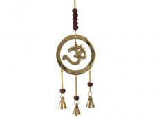 Windspiel - Glockenspiel mit Om Symbol