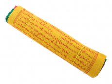 Tibetische Gebetsfahnen Baumwolle 19 x 17cm