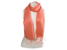 Pashmina Schal Nepal - burnt orange