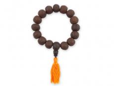 Hand-Mala - Bodhi dunkelbraun