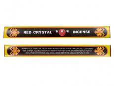 Räucherstäbchen - Red Crystal Incense