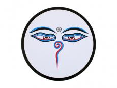 Aufkleber Sticker Buddha Eyes groß