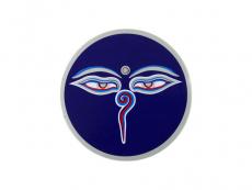 Aufkleber Sticker Buddha Eyes klein