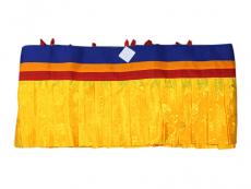 Shambu - Tibetischer Deckenbehang 10 m gelb