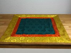 Altardecke aus Seiden Brokat viereckig