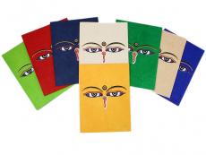 Grußkarten-Set Buddha Augen