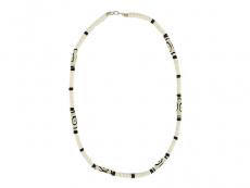 Halskette Surferkette aus Knochen weiß
