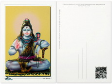 Postkarte Lord Shiva