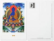 Postkarte Medizin Buddha