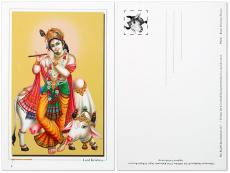 Postkarte Krishna