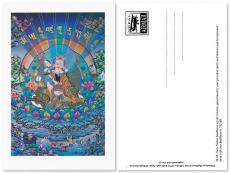 Postkarte Guru Padmasambhava