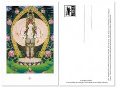 Postkarte Avalokiteshvara