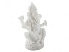 Ganesha Statue weiß