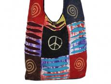 Patchwork Tasche Batik Bunt Nepal