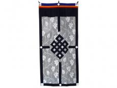 Tibetischer Spitzen Türbehang - Unendlicher Knoten