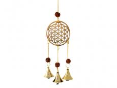 Windspiel - Glockenspiel mit Blume des Lebens