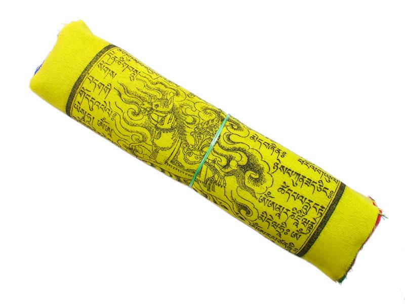Gebetsfahne mit 25 Fahnen Polyester hohe Qualität mittel