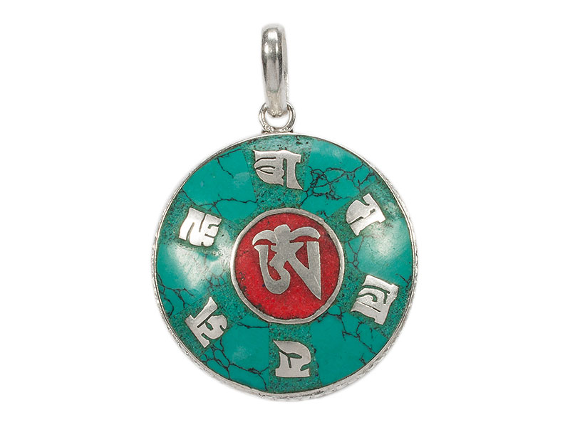Anhänger Amulett - Om Mani Padme Hum