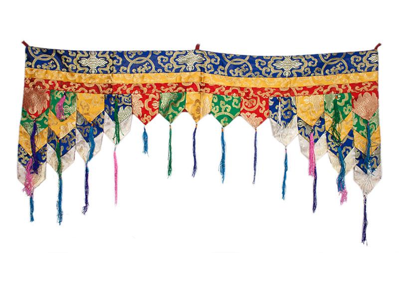 Shambu, Chukhor - Tibetischer Decken- und Wandbehang