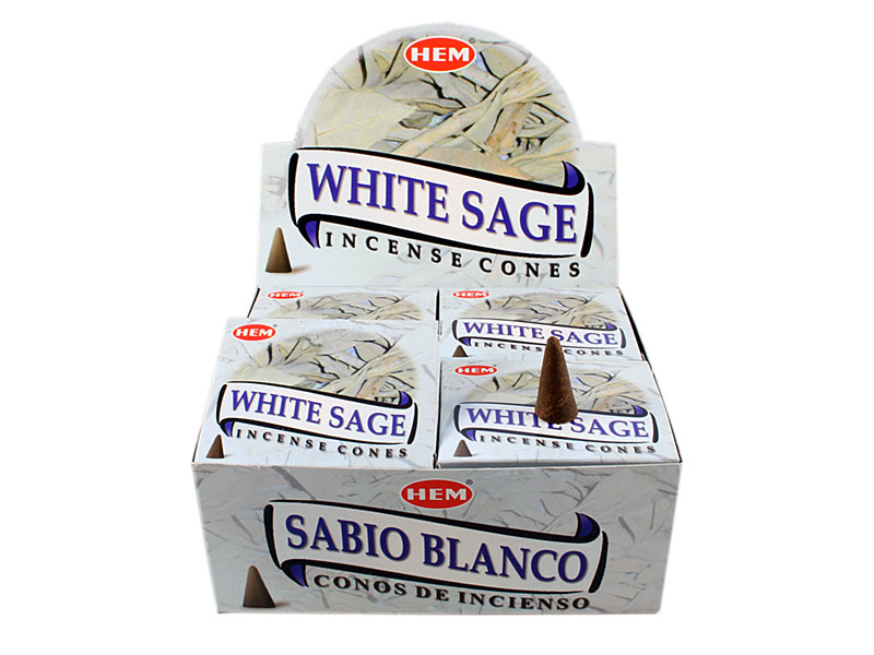 Hem White Sage Räucherkegel