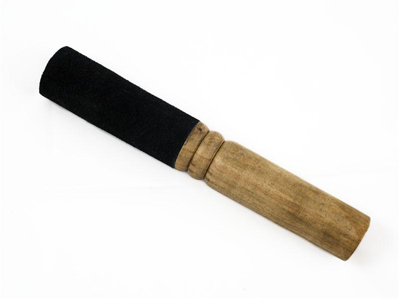Holzklöppel mit Lederbezug -  Ø 3 cm