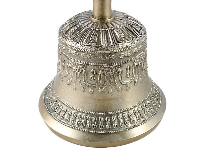 Ghanta / Drilbu Set mit Dorje vergoldet