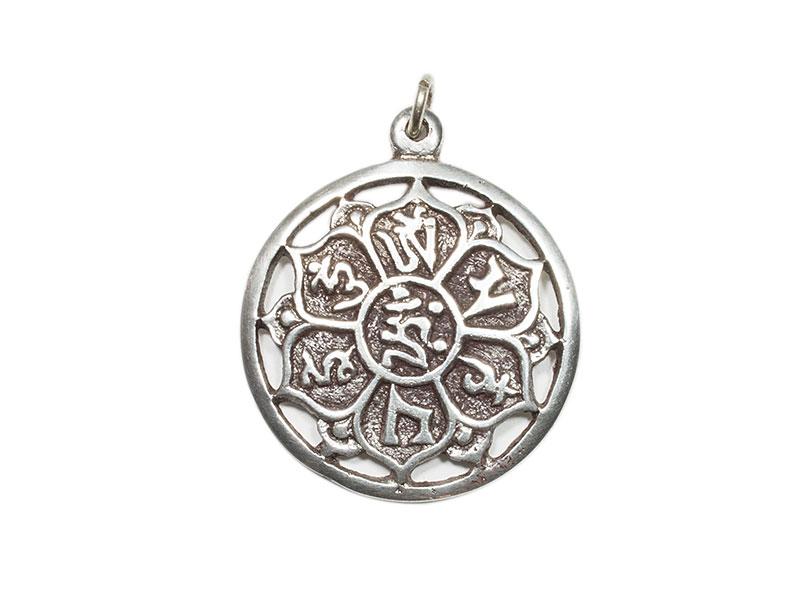 Anhänger Amulett - Om Mani Mantra