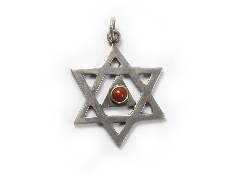 Abhänger Amulett - Hexagramm