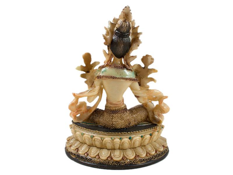 Grüne Tara Statue - Weiblicher Buddha