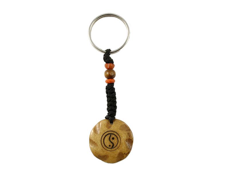 Schlüsselanhänger Yin und Yang Symbol
