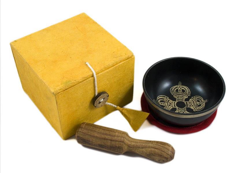 Klangschalen Geschenkset - Doppelt Dorje
