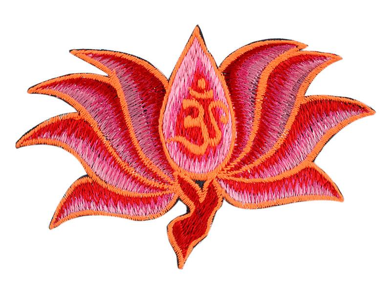 Aufnäher / Patch - Om Lotus